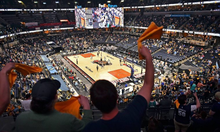 NBA starts playoff and rehearses normally with audience of up to 15,000 people
