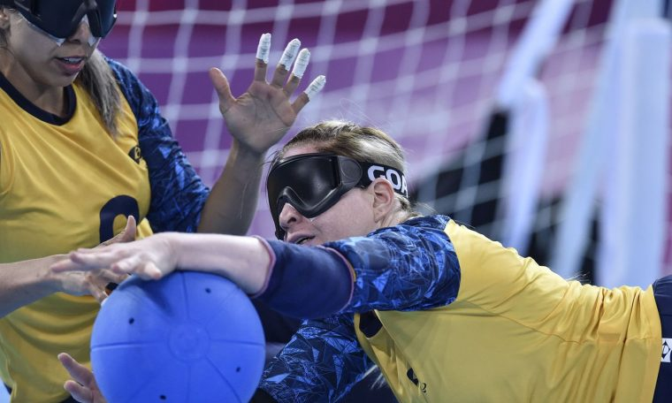 Paralympics: Brazilian goalball faces the defending champion in the first leg