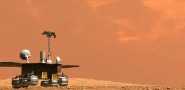 Preparing to launch China guided robot on Mars - 05/14/2021