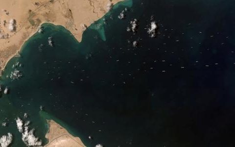 Suez Canal begins dredging to expand duplicates
