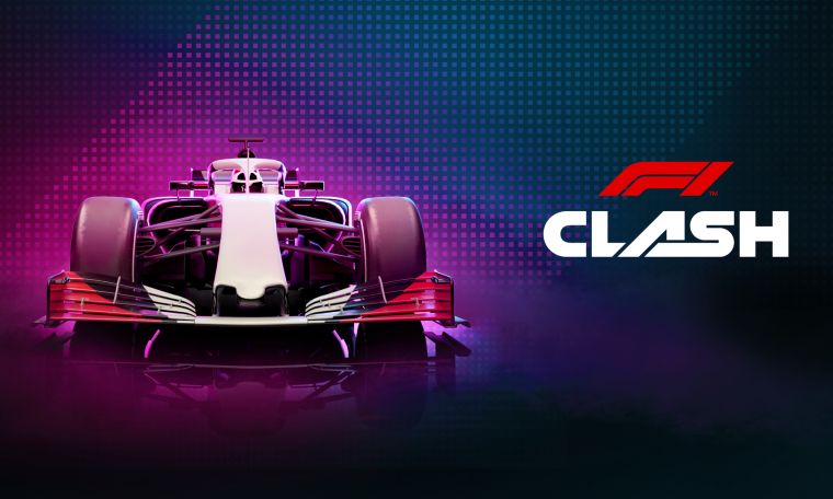 The F1 Clash brand redesign states the title of the next Formula 1 management simulator, Racefan