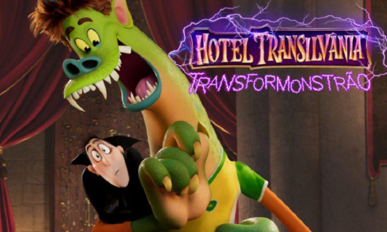 """Filme """"Hotel Transilvânia: Transformonstrão"""" tem primeiro trailer liberado"""