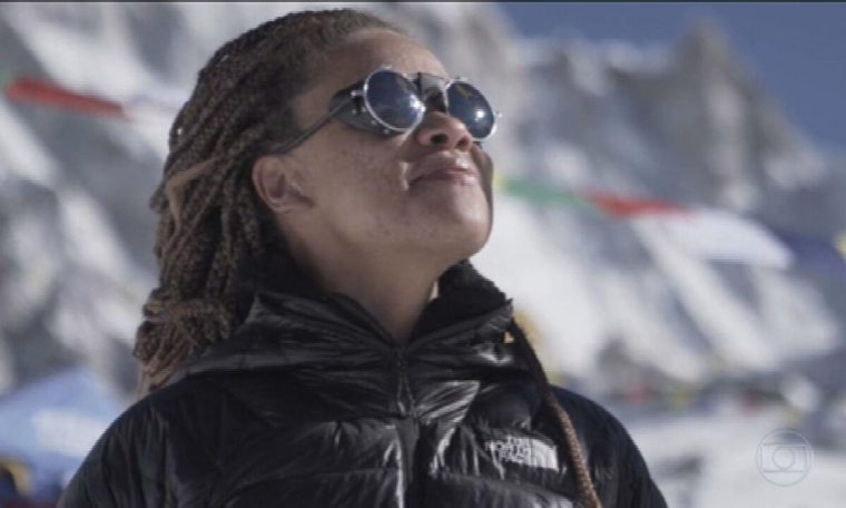 The former Cain picker becomes an athlete and reaches the summit of Mount Everest: 'Everyone has the inner strength of achievement'.  Fantastic