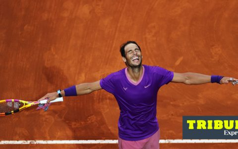 Tribuna Expresso: Big Game |  In game 57 between Nadal and Djokovic, the Spaniard smiled