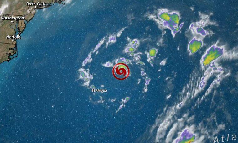 Tempestade subtropical Ana se forma no Atlântico, a nordeste das Bermudas