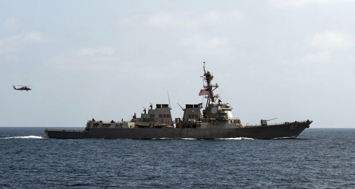 US military ship fires 30 warning shots after meeting with Iranian ships