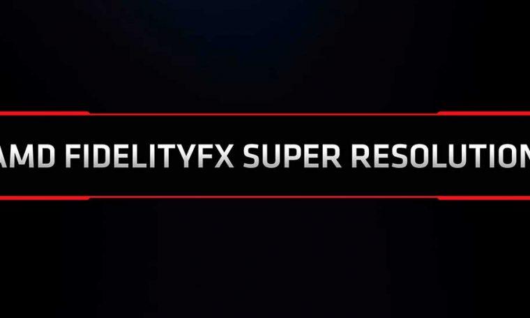 Finally, AMD DLSS presents its response to AMD FidelityFX Super Resolution
