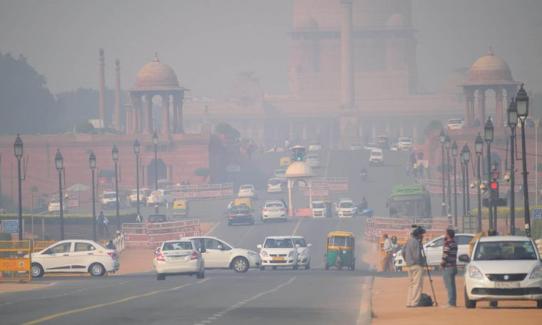 Air quality improvement in India during lockdown