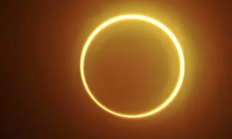 """A solar eclipse this Thursday will create a """"ring of fire"""" around the Moon;  See how to follow 