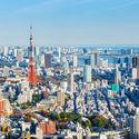 Tokyo, Japan.  Image via Shutterstock