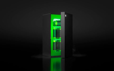 Xbox refrigerator: Microsoft launches fridge inspired by Series X meme  Video game