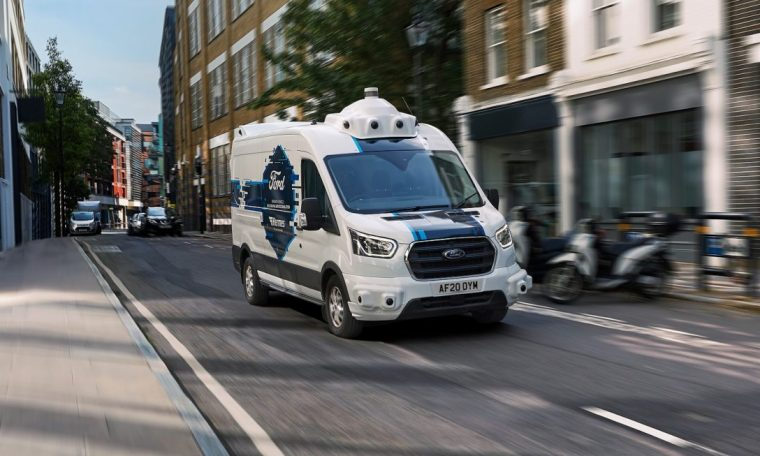 Teste de entregas urbanas com autônomos da Ford mostra eficiência