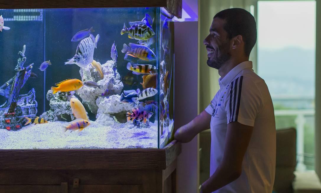 Swimmer Daniel Dias will compete in his fourth and final Olympics in Tokyo. Photo: Adilson Dantas / Agnia O Globo