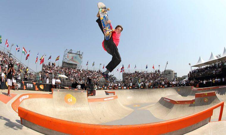 Luiz Francisco was the first Brazilian athlete to win an Olympic spot in a skate photo: Confederaço Brasileira de Skate