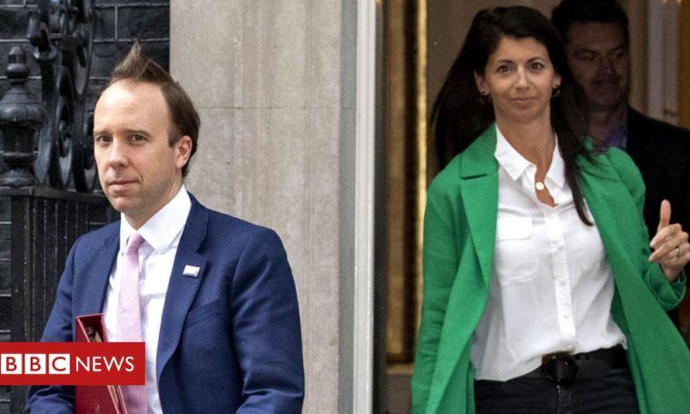 UK Health Secretary caught kissing adviser and apologizing for insulting social distancing