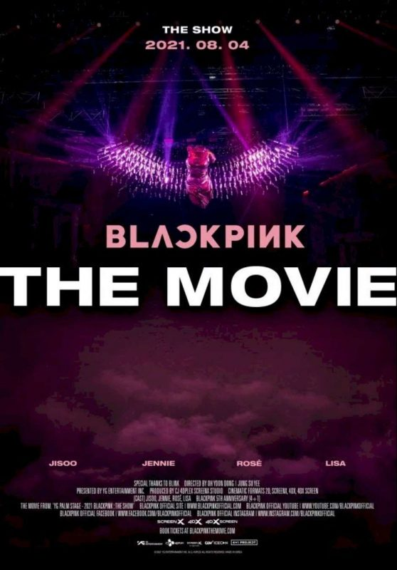 """""""Blackpink: The Movie"""" details have been disclosed"""