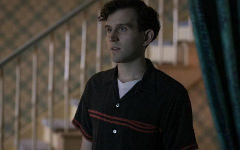 Harry Melling na série da Netflix 'O Gambito da Rainha'