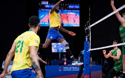 Brazilian volleyball hit Australia easy