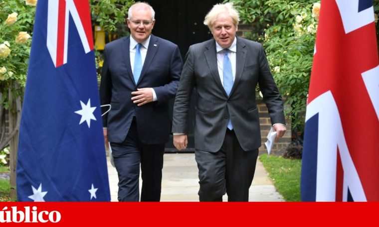 Britain and Australia laid the groundwork for the first free trade agreement since Brexit.  Business
