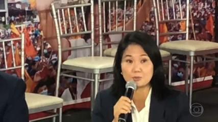 Keiko Fujimori calls for annulment of 200,000 votes in Peru election