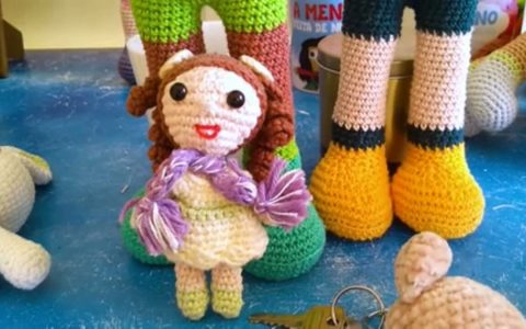 Crochet Grandpa earns $3.5K per month with inclusive doll sales.  small business and big business