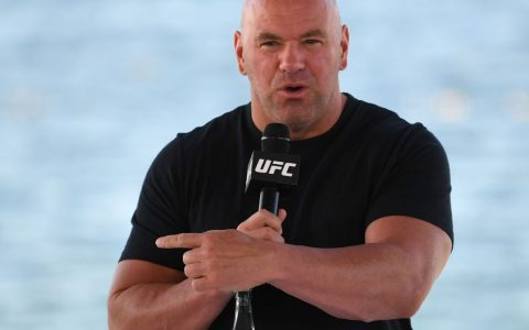 Dana White confirms Whitaker is close to challenging Adesanya and suggests a date