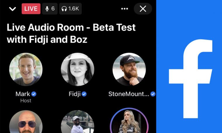 Facebook Launches New 'Audio Room' To Beat Clubhouse  Mark Zuckerberg Hosts Facebook's First Public Live Audio Room