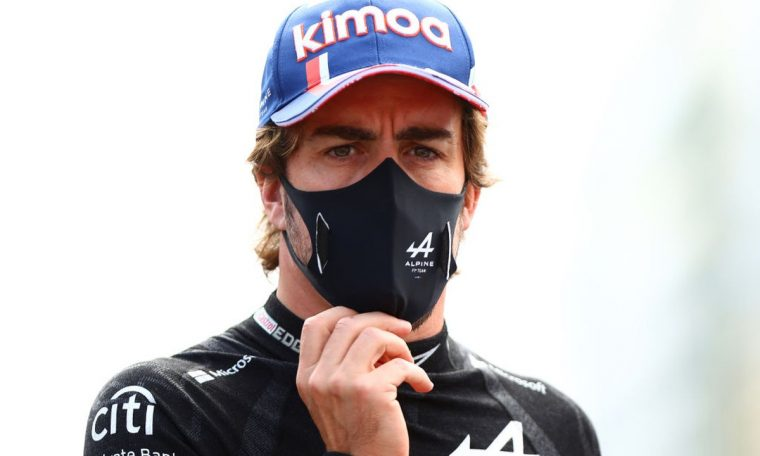 Fernando Alonso signs letter for donation of Kovid vaccine.  formula 1