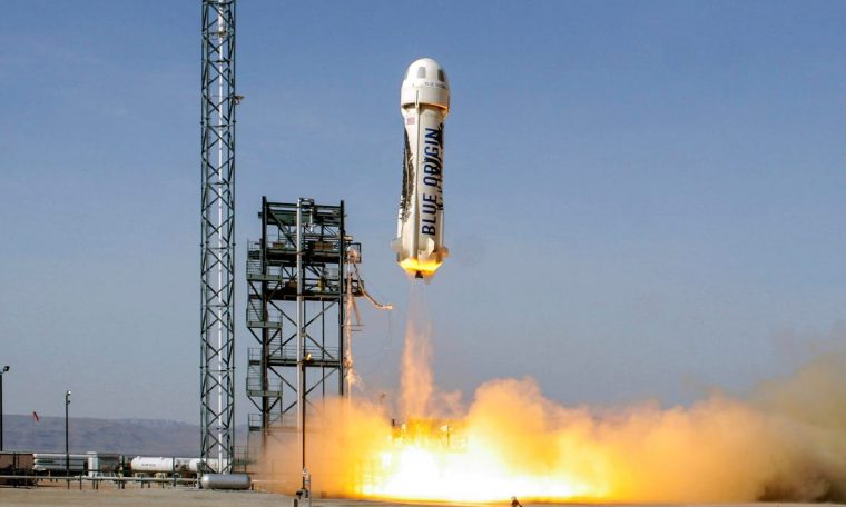 Jeff Bezos will fly into space on Blue Origin's first manned launch