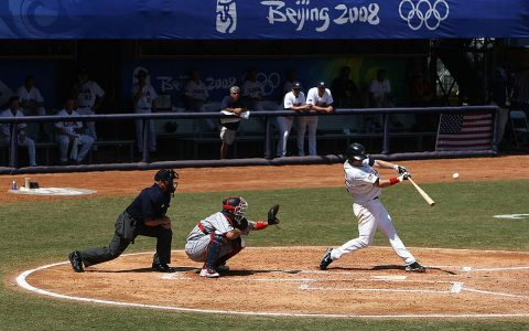 Pandemic drops pre-Olympic baseball in Australia |  drops olympics