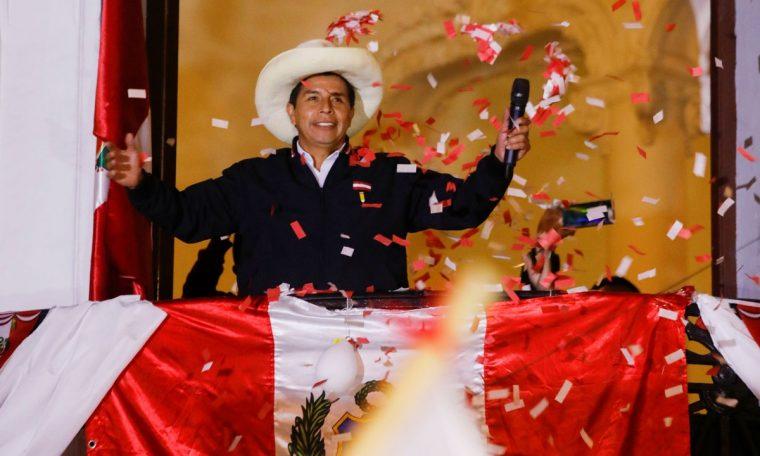 Peru ends official presidential election votes under Castillo's leadership.  world
