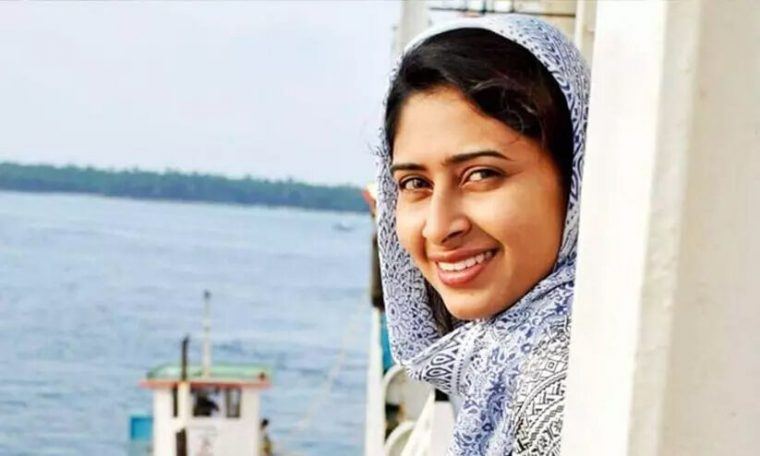 Police confiscated Ayesha Sultana's mobile phone Lakshadweep Police confiscated Ayesha Sultana's mobile phone.
