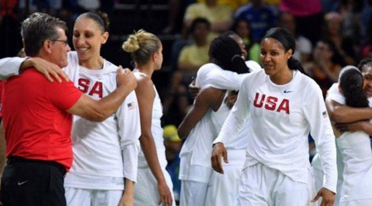 Atual hexacampeã olímpica, a seleção feminina de basquete dos Estados Unidos é a maior vencedora da competição. O país venceu oito das 11 edições disputadas na história dos Jogos.