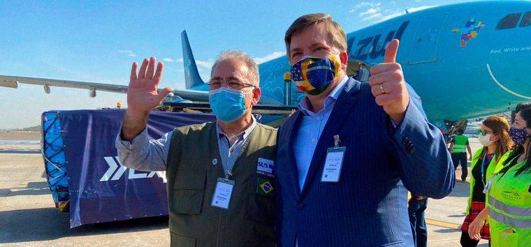 Estados Unidos doam 3 milhões de doses de vacinas covid-19 ao Brasil