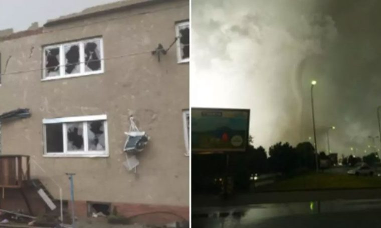 Video records tornadoes injuring over 100 in Czech Republic |  world