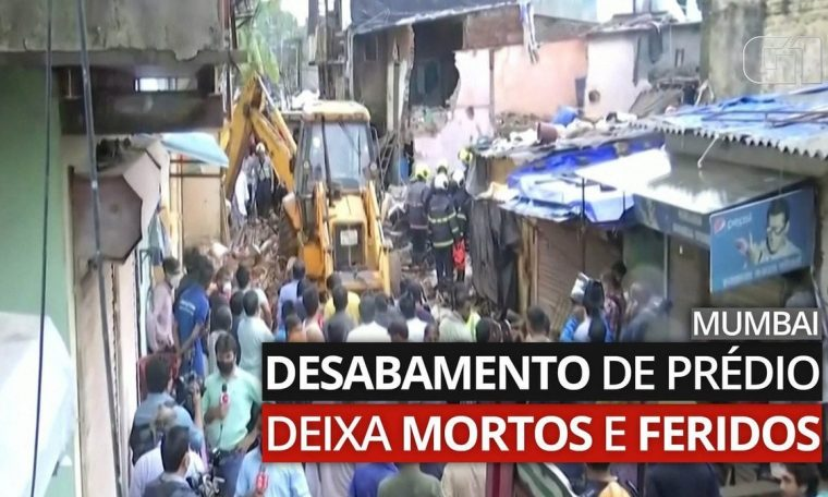 dead and injured in building collapse in mumbai  world