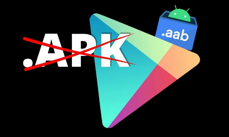 Google Play introduces a new application format.  apk ends there