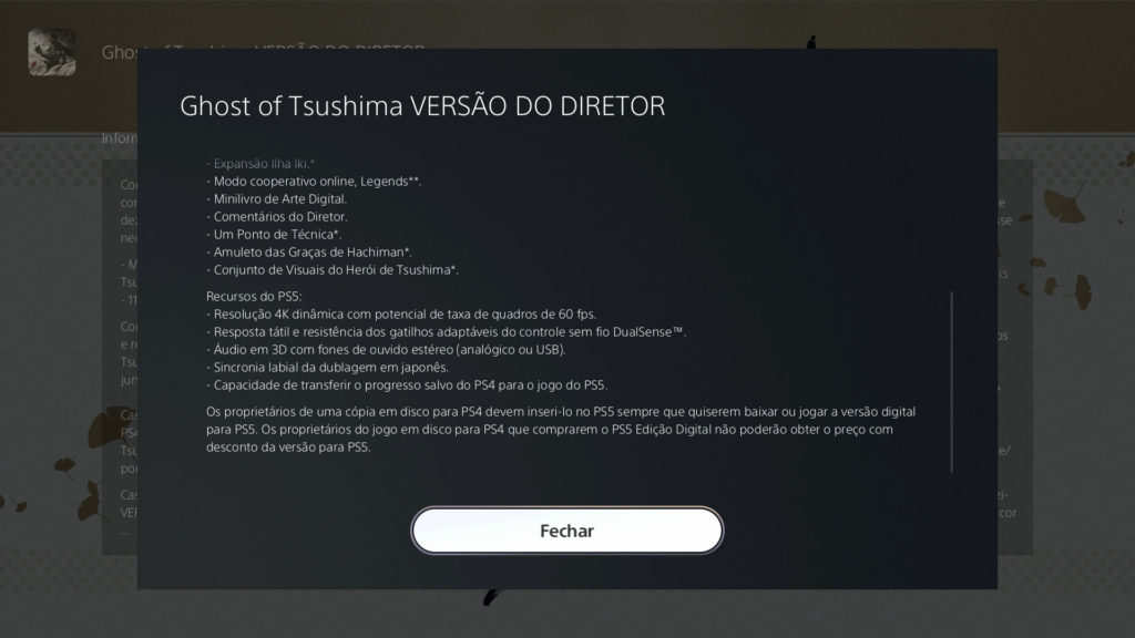 Ghost of Tsushima Director's Edition Ghost