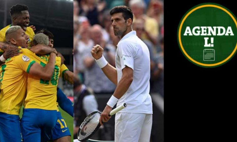 Copa America, Wimbledon, Stanley Cup... Find out where to watch Monday's sporting events