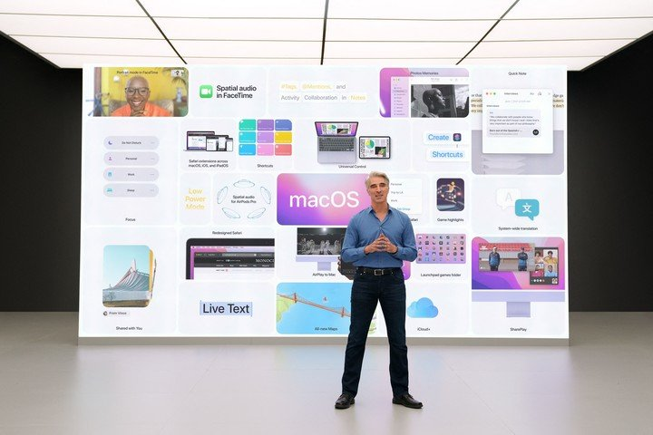 All the news that the new Apple operating system brought.  afp photo