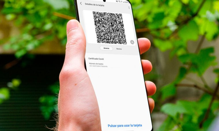How to save a COVID certificate in Samsung Pay to be always available on your Galaxy mobile?