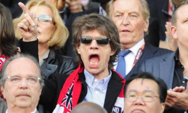 'Pay-frio' Mick Jagger fined 70,000 reais for watching England in Euro Cup  International
