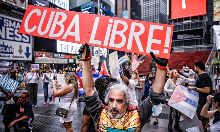 Worst economic crisis since 1990s is behind protests in Cuba