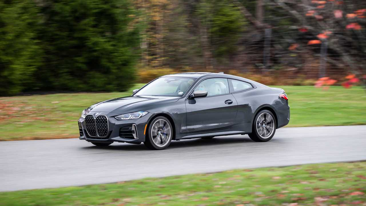 2021 BMW 4 Series Front Quarter Width