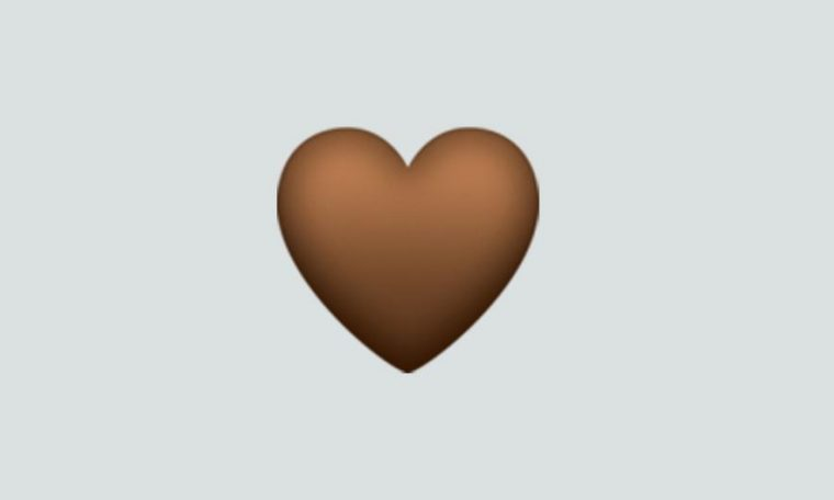 WhatsApp |  What does brown heart emoji mean?  brown heart |  meaning |  Applications |  Apps |  emoticons |  Smartphone |  cell phone |  trick |  Tutorials |  United States |  Spain |  Mexico |  NDA |  NNNI |  Play play