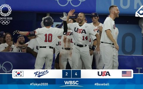 Playoffs - United States won South Korea and went undefeated at Tokyo 2020