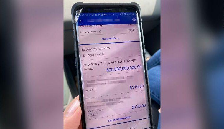 Banco depositou acidentalmente US$ 50 bilhões na conta de uma família da Louisia