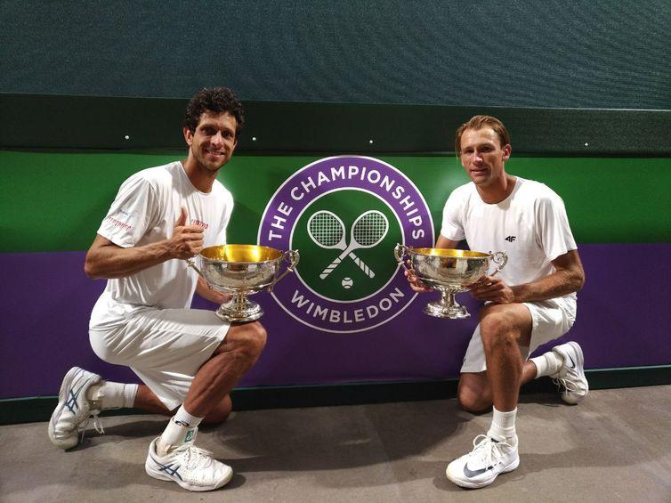 Marcelo Melo and Lukasz Kubot - Prize - Wimbledon