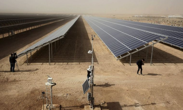 Could it be solar panels that warm the climate?  |  Science |  News |  Sun