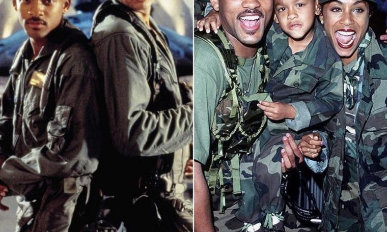 'Independence Day': Will Smith post behind-the-scenes photos from film: '25 years ago?  Wow!'  |  Famous